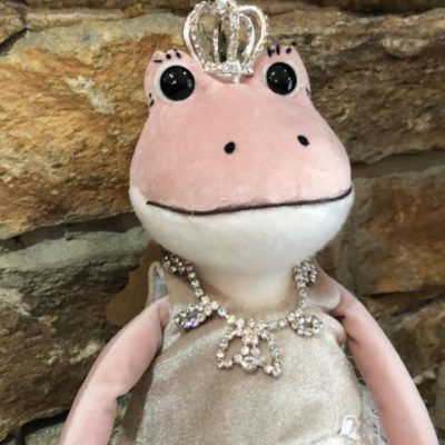 Pink Frog Princess in Tutu