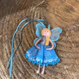 Miniature Wishing Fairy Doll Blue