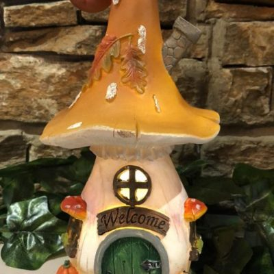 Mushroom Light Up Fairy House