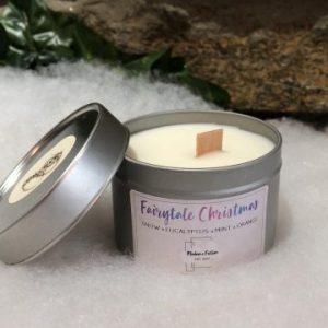 Fairytale Christmas Candle