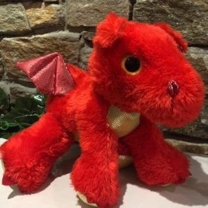 Sparkle Tales Sizzle the Dragon Plush