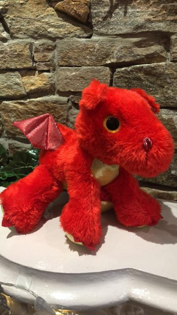 Sparkle Tales Sizzle the Dragon Plush
