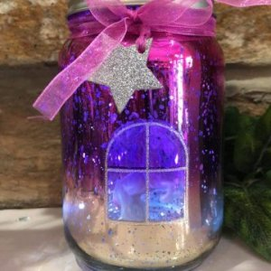Unicorn Light Up Jar