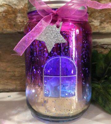 Unicorn Light Up Jar