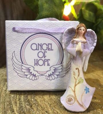 Guardian Angel of Hope in Bag