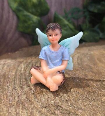 Little Boy Fairy Ornament