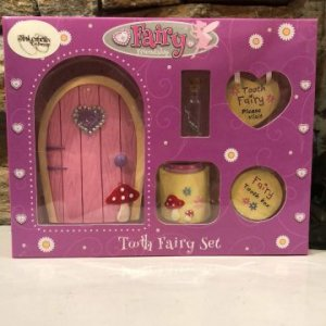 Tooth Fairy Door Gift Set Girl