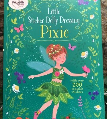 Little Sticker Dolly Dressing Pixie Book