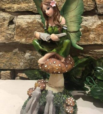 Story Teller Fairy Ornament
