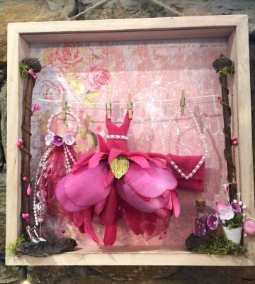 Fairy Dressing Room Box Frame