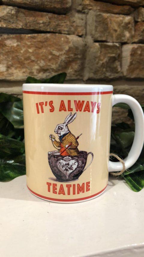 Alice It's Always Tea Time Mug
