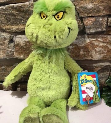 Dr Seuss The Grinch Plush Toy Large
