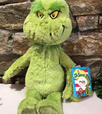 Dr Seuss The Grinch Plush Toy Large