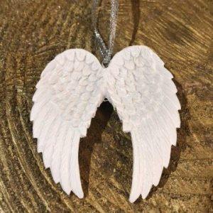 Ceramic Glitter Angel Wings