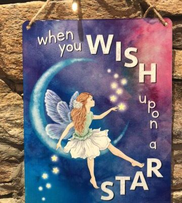 When You Wish Upon A Star Metal Plaque