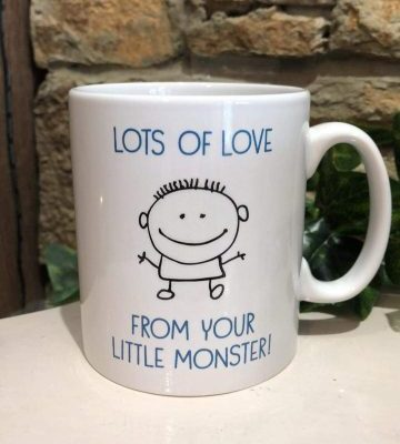 From Your Little Monster Mug for Dad