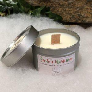 Santa's Workshop Candle