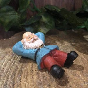 Gnome Figurine With Feet Up