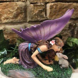 Little Kiss Fairy Ornament