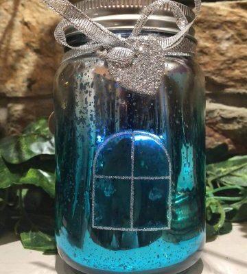 Mermaid Light Up Jar