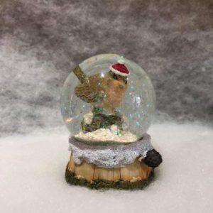 Robin Mini Snow Globe