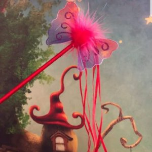 Red Fairy Wand