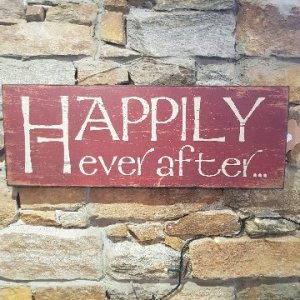 Happily Ever After Wall Plaque