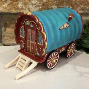 Gypsy Caravan Fairy House