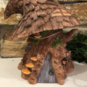 Witches Hat Fairy House
