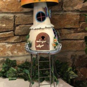 Stilt Metal House Mushroom