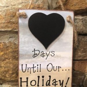 Days Until Our Holiday Chalkboard Countdown