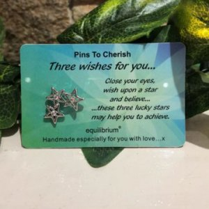 Pins To Cherish - Three Wishes For You