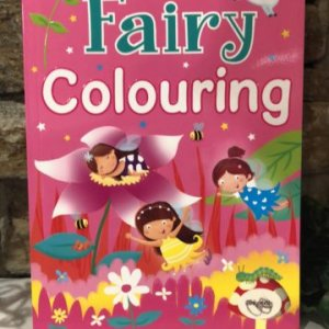 Fairy Bumper Colouring Book